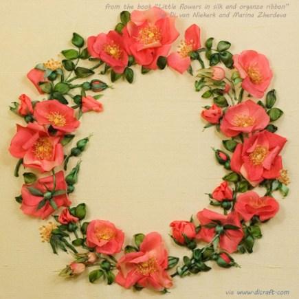 Rose Wreath by Marina Zherdeva