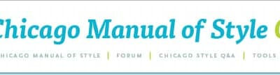 CHICAGO manual of STYLE, quick Guide
