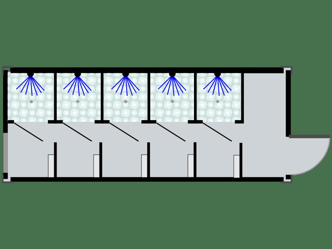 Urban MultiHouse Shower Unit