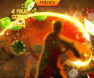Fruit Ninja Kinect game play