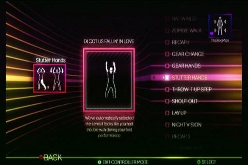 Dance Central 2 - Break It Down - Moves List