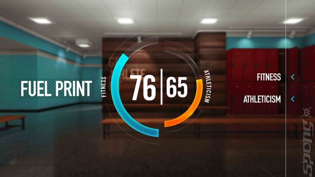Nike+ Kinect Training - Xbox-360 - Fuel Print