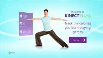 Xbox Kinect PlayFit