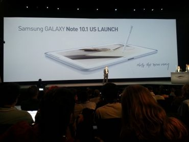 Samsung Galaxy Note 10.1 - Note the New Way