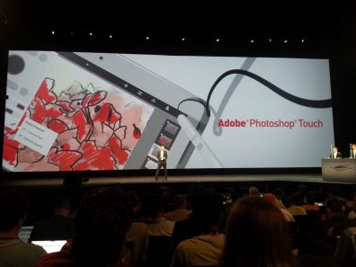 Samsung Galaxy Note 10.1 - Adobe Photoshop Touch Launch