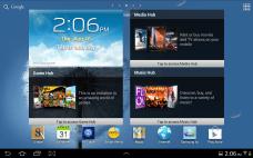 Samsung Galaxy Note 10.1 - Home Screen