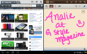 Samsung Galaxy Note 10.1 - Internet and S Note - Analie