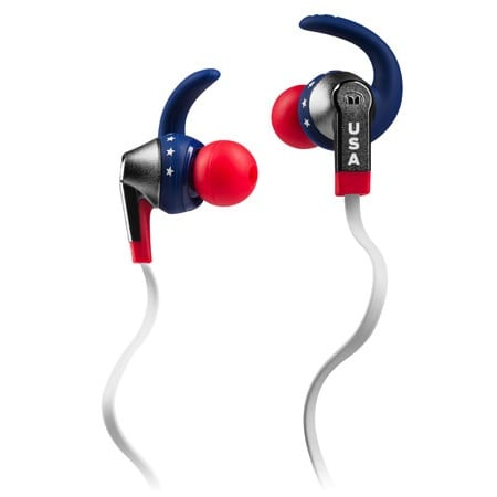 Monster iSports USA Earbuds