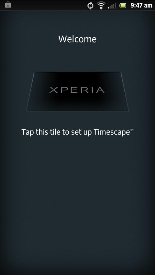 Sony Xperia Ion - Timescape