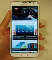 Samsung Galaxy Note II - Hands On