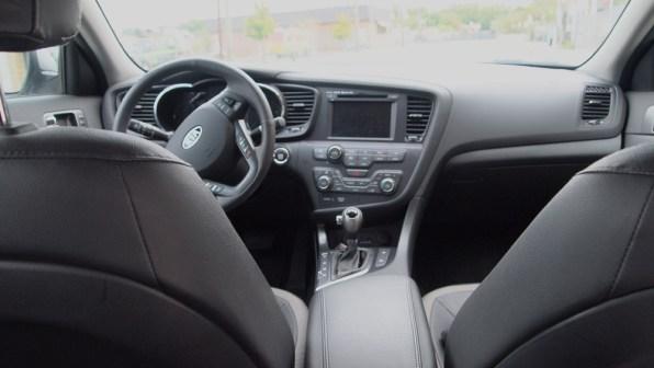 Kia Optima Hybrid – Review - G Style Magazine - interior - dashboard