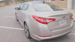 Kia Optima Hybrid – Review - G Style Magazine - exterior - rear bumper - headlights
