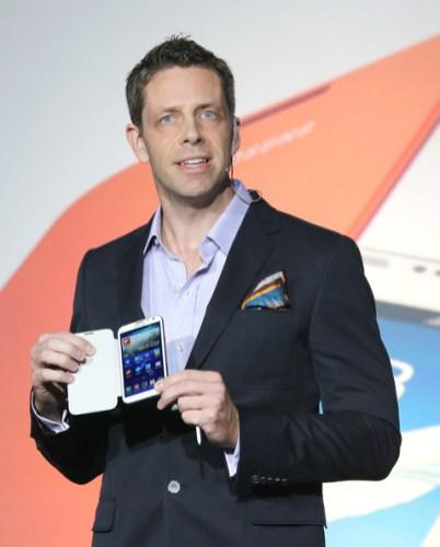 Samsung Galaxy Note II - Launch Speaker