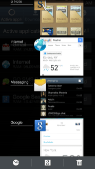 Samsung Galaxy Note II - Home Button Options
