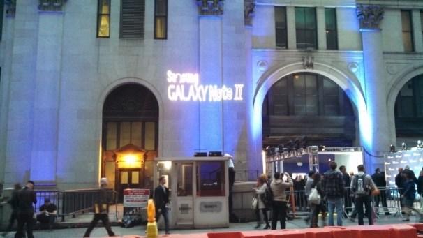 Samsung Galaxy Note II - Outside Media Lineup