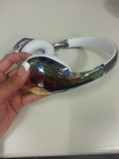 Monster Diamond Tears - headphones - review - g style magazine Left Side View
