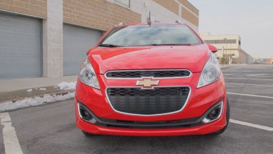 Chevy Spark 2 LT - G Style Magazine - exterior - front - grill - headlights 1