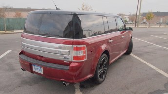 Ford Flex Limited - REview - Car - Auto - G Style magazine - exterior - back side view