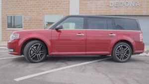 Ford Flex Limited - exterior side view doors - G Style Magazine