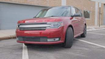 Ford Flex Limited - REview - Car - Auto - G Style magazine - exterior - grill 1