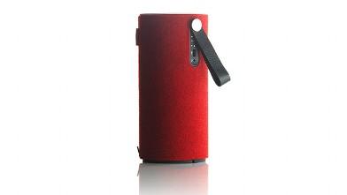 Red Libratone Speaker - G Style Magazine