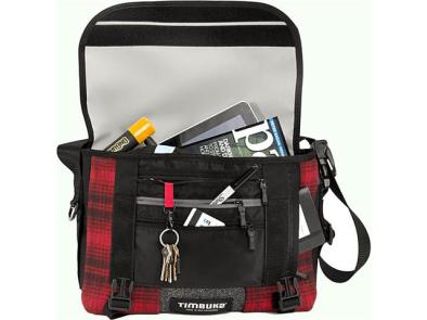 Timbuk 2 Woolrich Messenger Bag Open