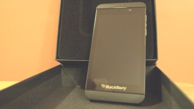 BlackBerry Z10 Smartphone - AT&T - Review - BB Z10 - BBM