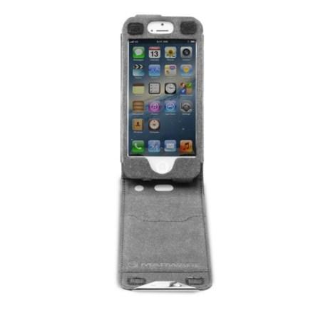 04-Black-FlipVue-iPhone5-Front-Open-500