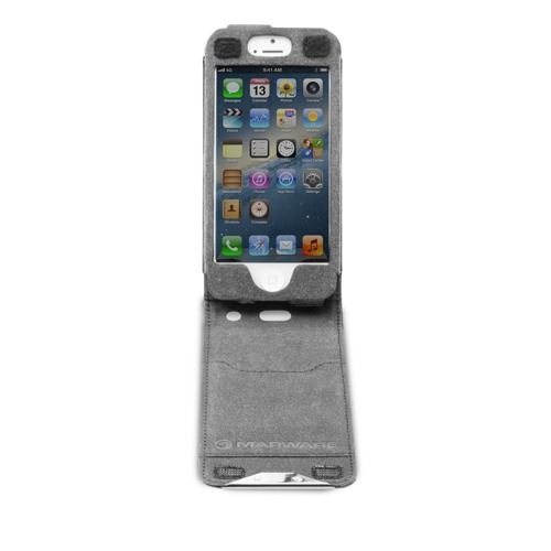 04-Black-FlipVue-iPhone5-Front-Open-500