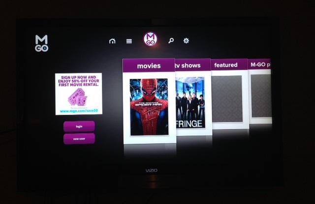Vizio Co-Star Google TV - Device TV Streamer - M-Go App Movie Streamer