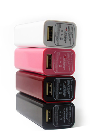 Powerocks Stone 1 – A 2600mAh Battery Charger for Smart Phones - G style magazine colors