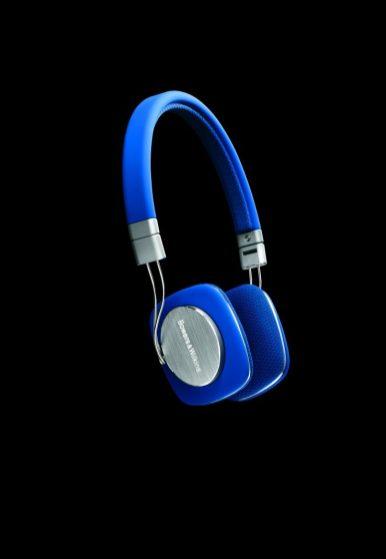 Headphones - Bowers Wilkins P3 Blue on_black - G Style Magazine