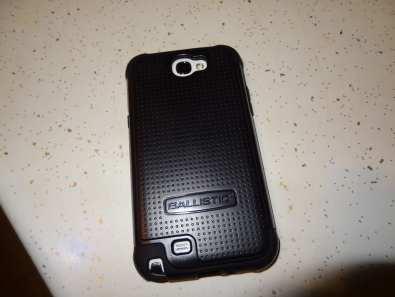 Samsung Galaxy Note II - Shell Gel Ballistic Case