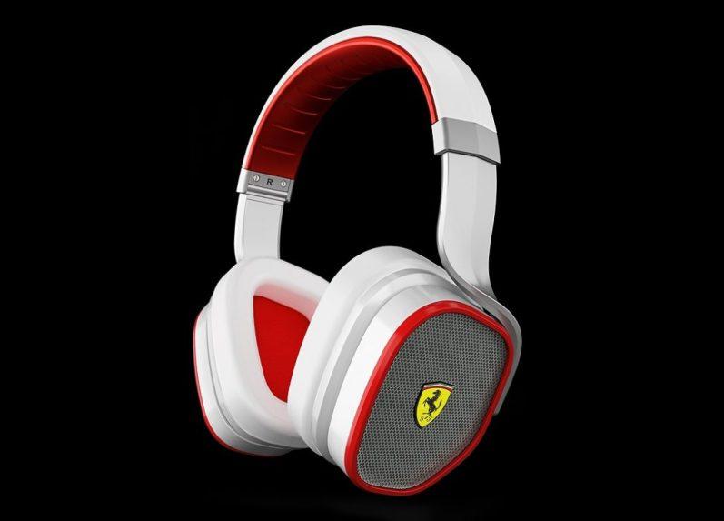 Ferrari Scuderia R300 Noise Canceling Headphones Logic3 - G Style Magazine - 1