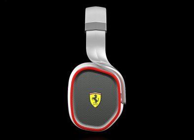 Ferrari Scuderia R300 Noise Canceling Headphones Logic3 - G Style Magazine - side
