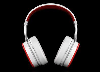 Ferrari Scuderia R300 Noise Canceling Headphones Logic3 - G Style Magazine - front