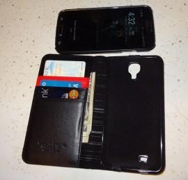 Spigen Leather Wallet SNAP case Samsung Galaxy S4 (9)