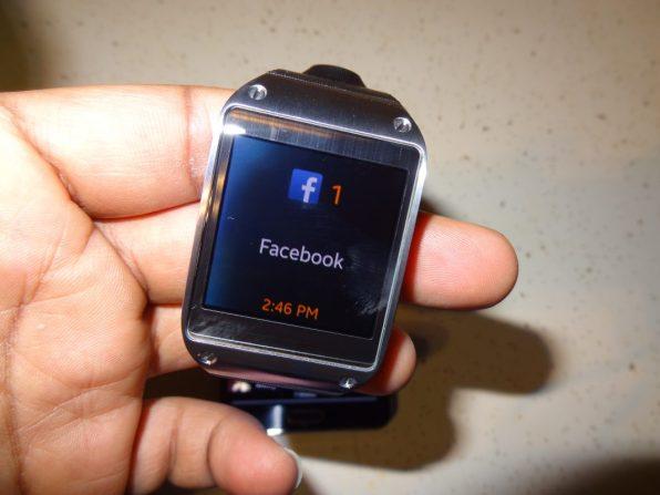 Samsung Galaxy Gear Watch Notifications