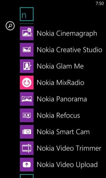 Nokia Lumia 1020 Smartphone Review - Nokia Apps