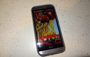 HTC One M8 Speck CandyShell Phone Case  (1)