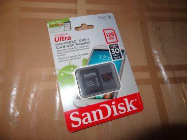 Sandisk Ultra microSDXC 128GB Card (1)