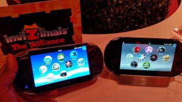PS Vita 1st gen (left) & PS Vita Slim (right)