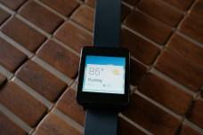 LG G Watch Weather