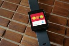 LG G Watch Notification