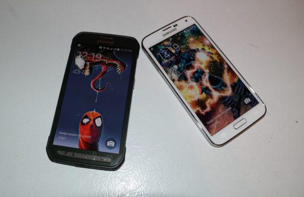 Samsung Galaxy S5 Active vs. Samsung Galaxy S5