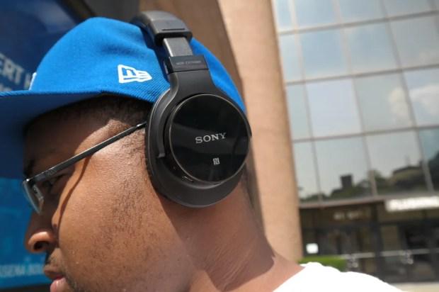 Sony MDRZX750BN wireless headphones on ear 2