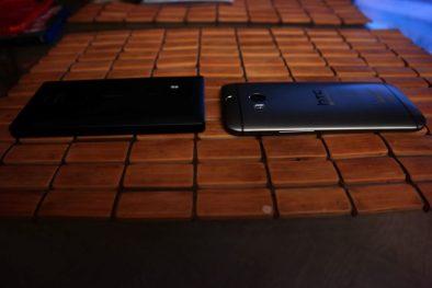 HTC One M8 for Windows Vs Nokia Lumia Icon Face Down