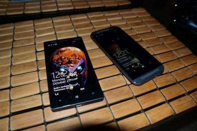 HTC One M8 for Windows Vs Nokia Lumia Icon 2