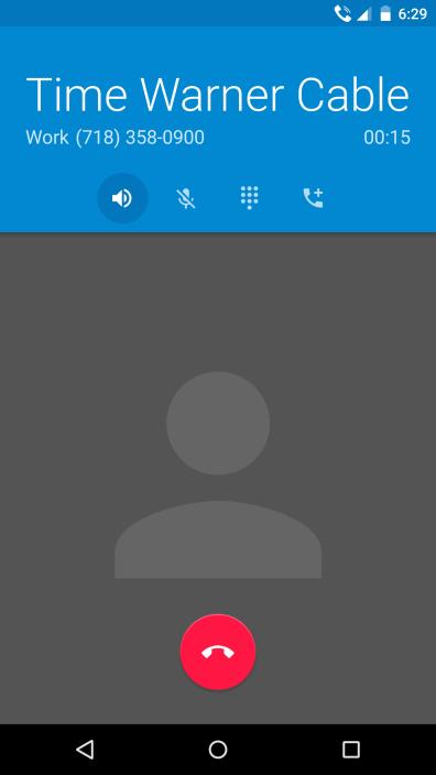 Nexus 6 Verizon Call