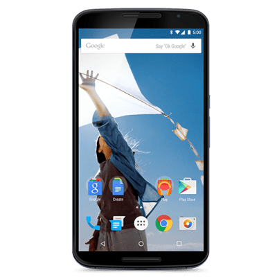 Top Smartphones Holiday Gift Guide (3) - Google Nexus 6 (by Motorola)